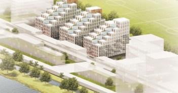 Synchroon ontwikkelt 165 appartementen op Zeeburgereiland Amsterdam