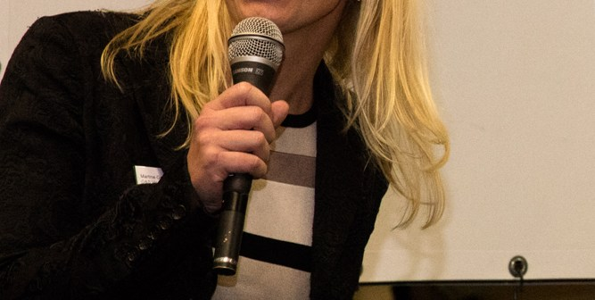Martine Gründemann, Head of Commerce G&S Vastgoed DWIRE Vastgoedaward 2015