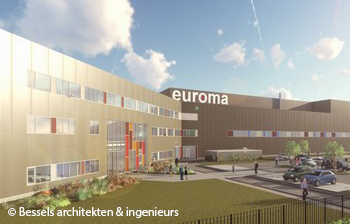 Euroma sluit huurovereenkomst met eindbelegger voor nieuwe fabriek in Zwolle
