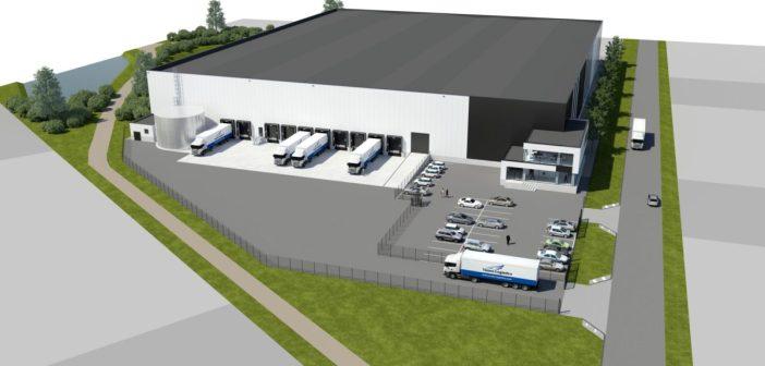 MG Real Estate ontwikkelt 11.225 m² farma warehouse voor Yusen Logistics in Roosendaal