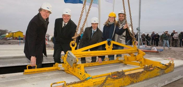 Officiële start bouw voor De Vlindertuin te 's Gravenzande