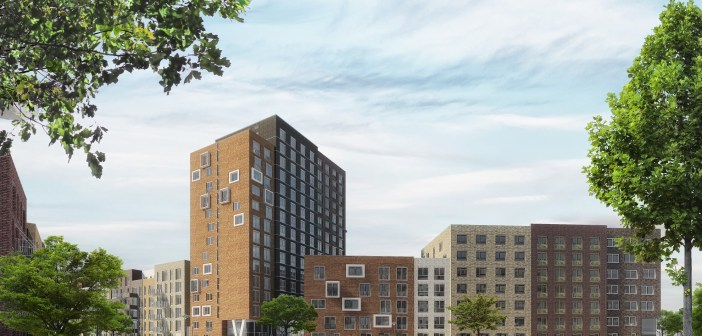 Start bouw fase 2 De Leidse Schans (Yours), Leiden