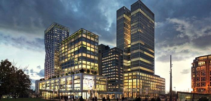 Maarsen Groep selecteert MVRDV voor ontwikkeling 50.000 m² mixed-use project Weenapoint in Rotterdam Central District