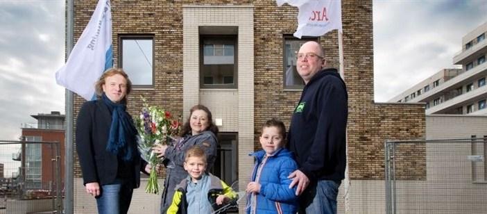 Eerste woningen New Norfolk in Den Haag opgeleverd