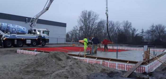 In Wolvega start nieuwbouw nieuw pand Delfsma Bouw & Ontwikkeling
