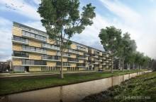 Amvest koopt 68 woningen aan de Koningslaan in Rotterdam