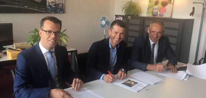 Gemeente Goes, Bouwgroep Peters en AM sluiten overeenkomst voor duurzame ontwikkeling Residence Goese Diep