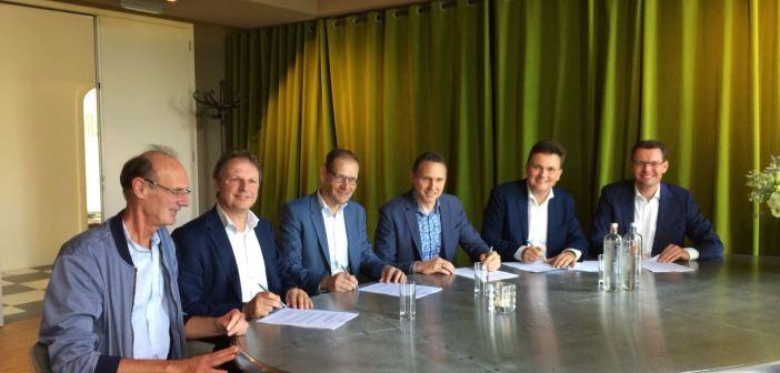 Intentieovereenkomst voor ontwikkeling deel Groningse Eemskanaalzone getekend