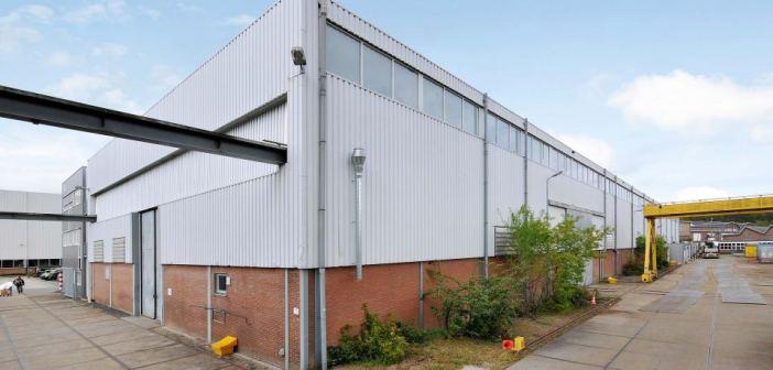 Bedrijfscomplex van ca. 3.500 m² in Rheden verhuurd aan Ubbink