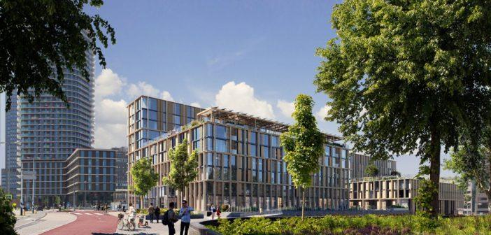 Duurzame huurwoningen voor middeninkomens bij Amstelstation