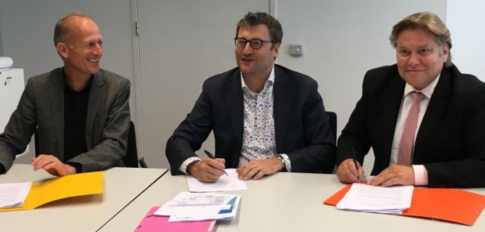 HSB Ontwikkeling en Wilma Wonen sluiten met de gemeente Zaanstad anterieure overeenkomst woningbouw Gouwpark