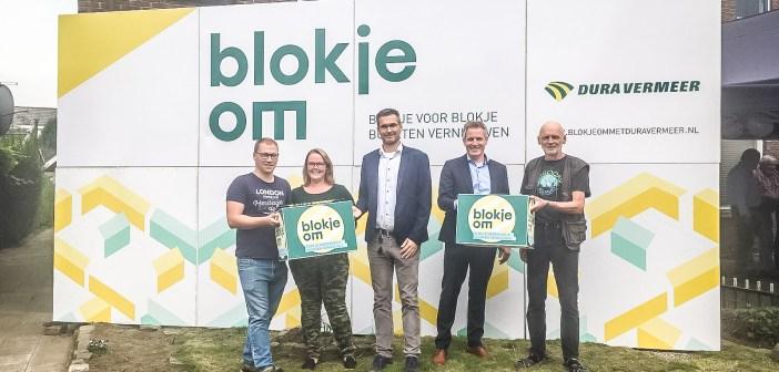 Asterstraat in Oldenzaal neemt letterlijk een 'Blokje Om'