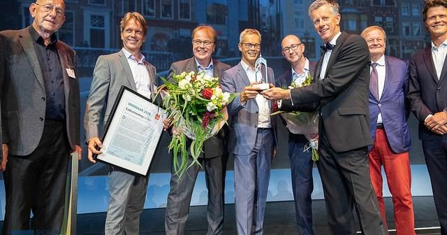 Catharinasteeg Leiden wint NRW Jaarprijs 2018