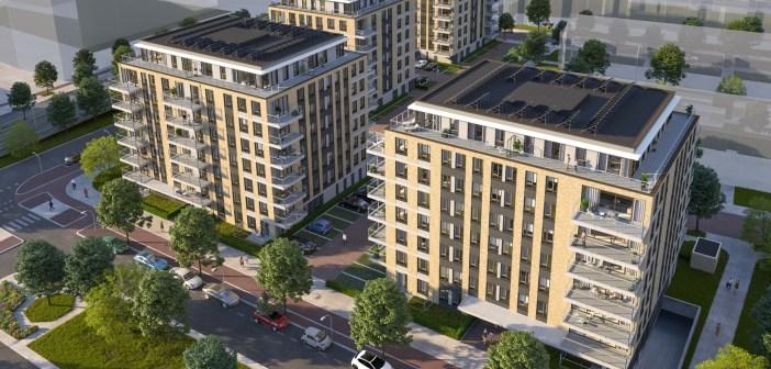 Reshape Properties verkoopt 128 woningen aan de Juliana van Stolberglaan in Den Haag aan Amvest