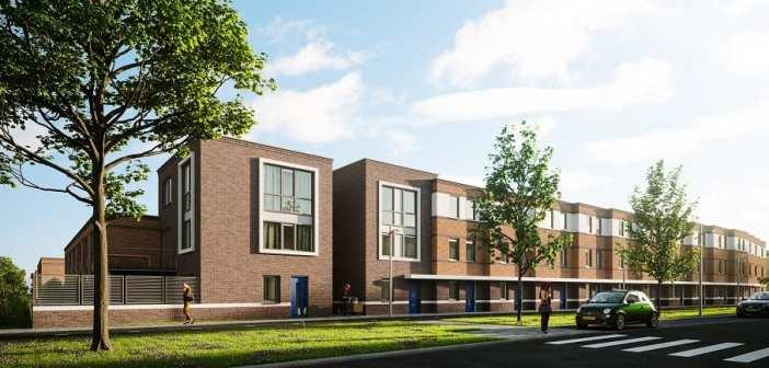 AM geeft startsein bouw 39 woningen Loofmeesters in Maassluis
