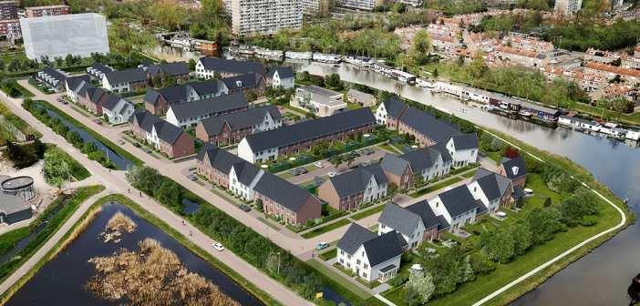 Gemeente Purmerend en ontwikkelcombinatie KWO geven startsein bouw duurzame woningen Klein Where in Purmerend