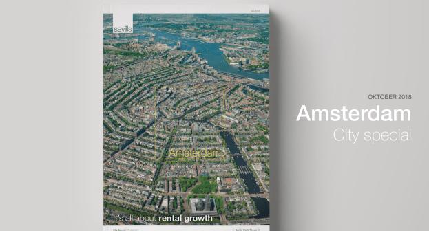 Savills: Ondanks forse huurgroei is Amsterdam internationaal gezien nog steeds betaalbaar