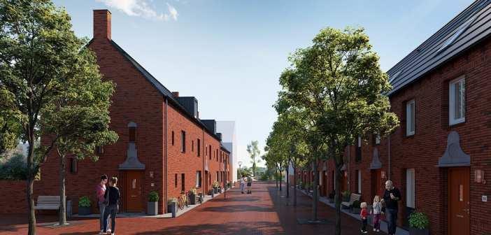 AM geeft startsein bouw 75 nul-op-de-meter huizen in Schoemaker Plantage, de meest duurzame wijk van Delft