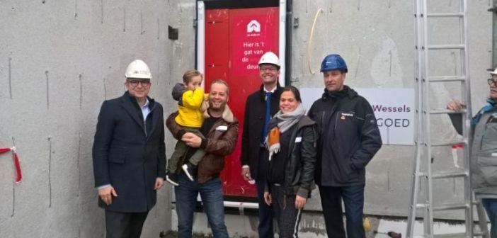 Start bouw 29 vrijstaande woningen 't Rietcarré Groningen
