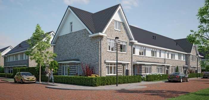 Startsein bouw aardgasvrije en energieneutrale woningen Larense Veld in Almere Haven