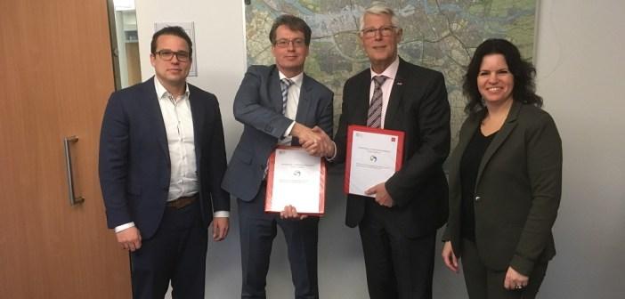 Gemeente Oud-Beijerland en AM sluiten overeenkomst voor duurzame en gasvrije ontwikkeling Spuifront