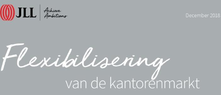 JLL: Amsterdam Europees koploper flexibele kantoorruimte