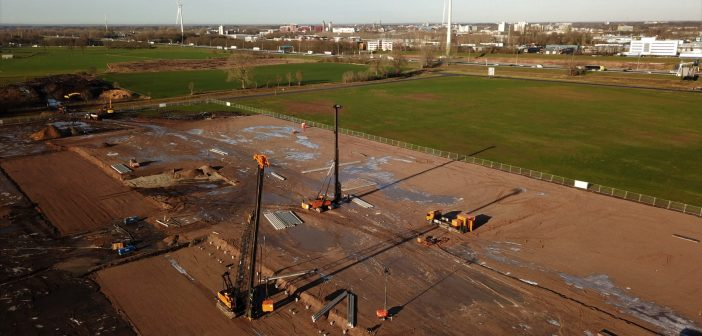 Aan de Stegge Twello bouwt voor Sligro op A1 Bedrijvenpark Deventer
