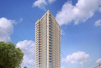 Start bouw appartementencomplex De Hoge Regentesse in Den Haag