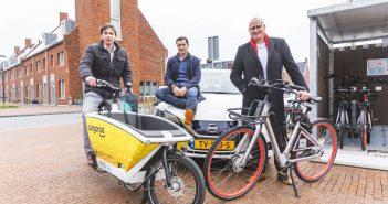 Delft start met eerste multimodale mobiliteitshub Hely