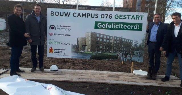 Start bouw Campus 076 Breda