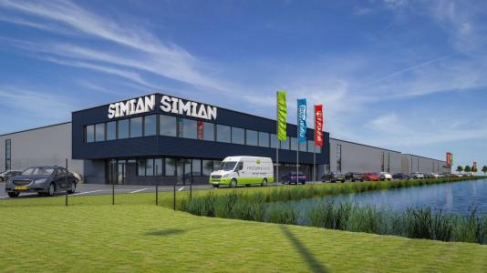 BAM realiseert uitbreiding voor drukkerij Simian in Westerbroek