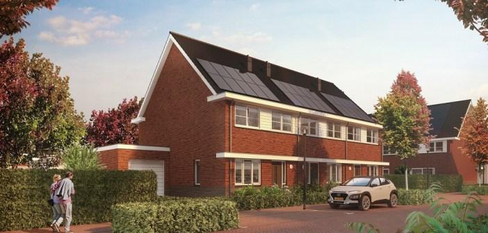 Gemeente Tilburg en AM geven startsein bouw 115 gasloze woningen Park Centraal in Tilburg