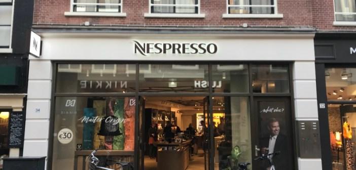 Nespresso Boutique verhuist in Haarlem