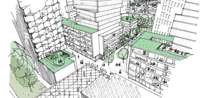 Den Haag kan groeien door nieuwbouw aan Station Den Haag Laan van NOI