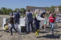Bouw 76 woningen van Wijdelande in Uithoorn officieel gestart