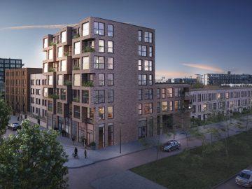 Leyten start woningbouwproject Machinistenhof in Rotterdam