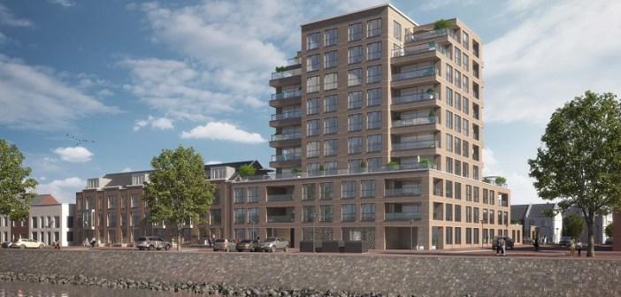 Startsein bouw 26 gasloze woningen in Americana op Stadswerven in Dordrecht