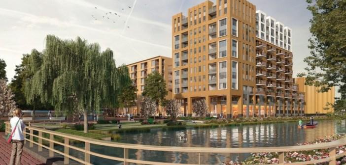 AM verkoopt appartementen en commerciële ruimten in Schalkstad Haarlem