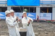 Bouw van woontoren CasaNova aan de Rotterdamse Wijnhaven officieel gestart