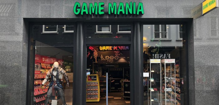 Game Mania huurt in Breda