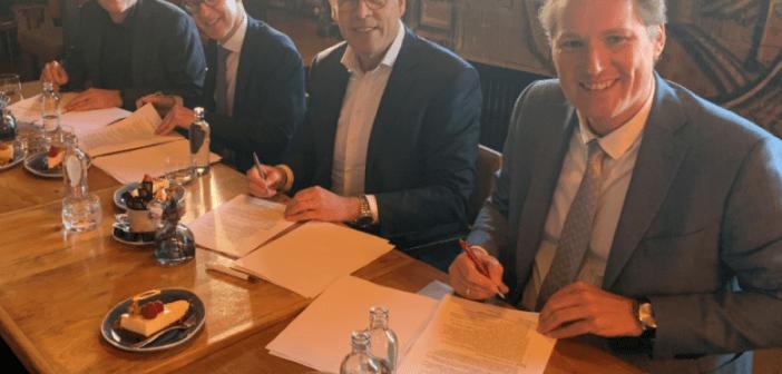 Newomij koopt 14 aardgasloze nieuwbouwappartementen in Oldenzaal van Janssen de Jong Projectontwikkeling