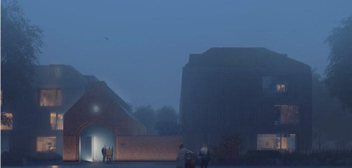 Dura Vermeer & Architectuur Maken zetten met het project 'Hortus Ludi' in op volledig houten woningen in Nijmegen