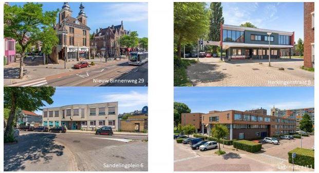 Laurens Zorg verkoopt 4 gebouwen in Rotterdam