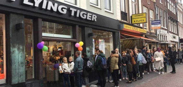 Flying Tiger Copenhagen verlengt huurovereenkomst Oudegracht 118 Utrecht
