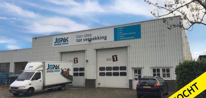 Jopak Packaging Solutions koopt magazijnruimte Spaanderstraat 27 in Oss