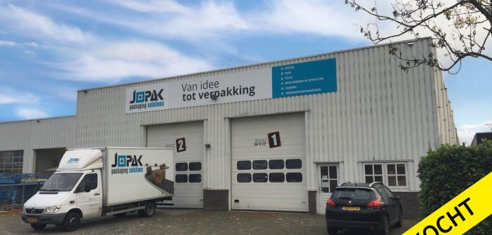 Jopak Packaging Solutions koopt magazijnruimte Spaanderstraat 27 in Oss