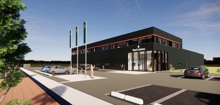 Aan de Stegge Twello realiseert nieuw bedrijfsgebouw StarCuisine in Bleiswijk