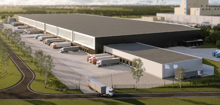 BlackRock koop DC Danone in Cuijk van VolkerWessels Logistics Development