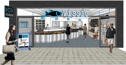 PingProperties verwelkomt Vissie in Winkelcentrum Carnisse Veste te Barendrecht