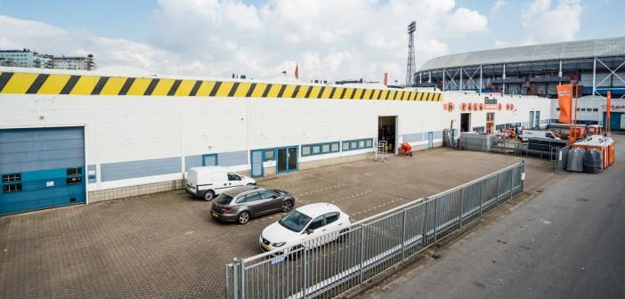 Van Herk Groep verhuurt circa 1.175 m² bedrijfsruimte aan de Olympiaweg 34-b te Rotterdam